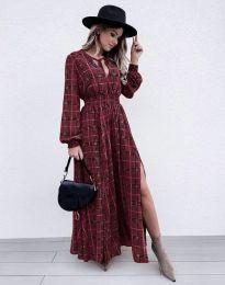 Ефектна дамска рокля - код 5194 - 6