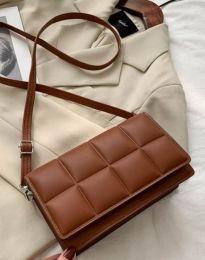Дамска чанта в кафяво - код B447