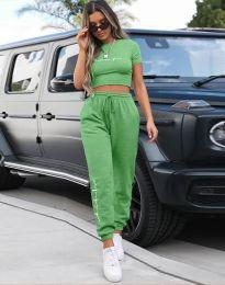 Дамски комплект в зелено - код 4304