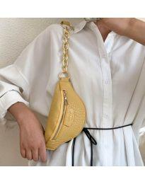 Дамска чанта в цвят горчица - код B26/192
