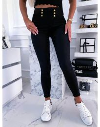 Дамски панталон в черно - код 9603