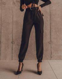 Дамски панталон в черно - код 2996