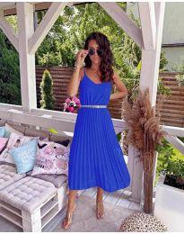 Феерична рокля в синьо - код 716