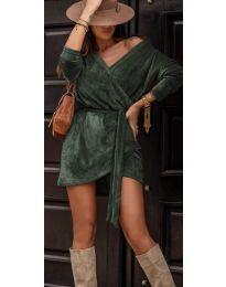 Дамска рокля в зелено - код 238