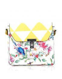 Дамска чанта в жълто - код HS - 5136