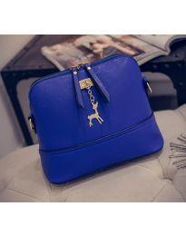 Дамска чанта в синьо - код B132