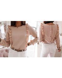 Дамска блуза в розово - код 4171