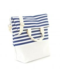 Плажна чанта на райе - код H - 9029 - 3