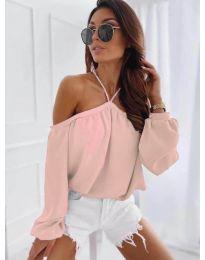 Дамска блуза в розово - код 6561