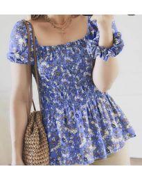 Дамска блуза в лилаво - код 3464