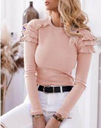 Дамска блуза в розово - код 1645