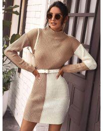 Атрактивен модел рокля - код 9935 - 4