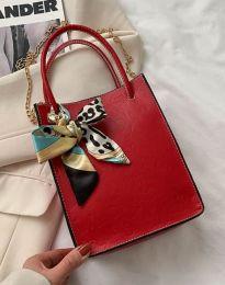 Дамска чанта в цвят червено - код B460