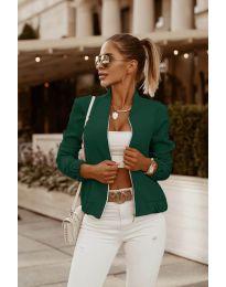 Дамско яке в зелено - код 761