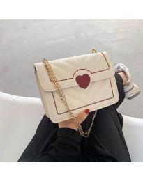 Дамска чанта в бяло - код B83