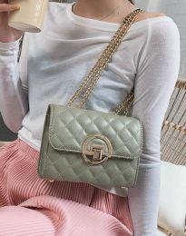 Дамска чанта в цвят мента - код B413