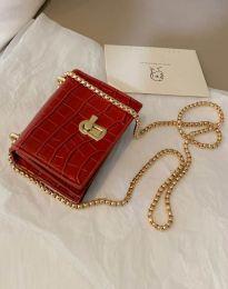 Дамска чанта в червено - код B425