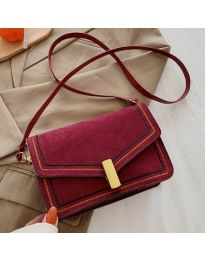 Дамска чанта в цвят бордо - код B160