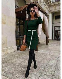 Дамска рокля в зелено - код  5190