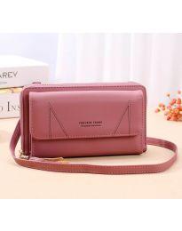 Дамска чанта в розово - код B105