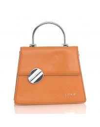 Дамска чанта в кафяво - код YF9237 - 1