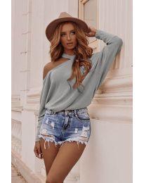 Дамска блуза в сиво - код 895