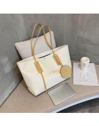 Дамска чанта в бeжово - код B33/9808-2