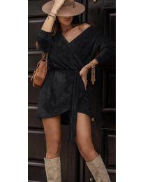 Дамска рокля в черно - код 238