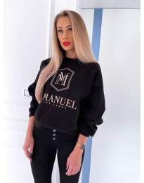 Дамска блуза в черно - код 4234