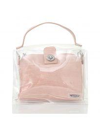 Дамска чанта в розово - код YF - D2025