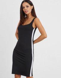 Спортна рокля в черно - код 1253