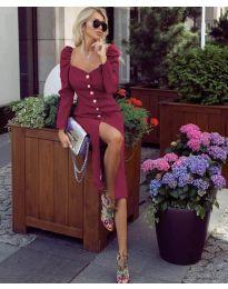 Елегантна рокля в борбо - код 4418