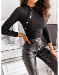 Дамска блуза в черно - код 41788