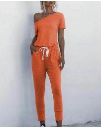 Дамски гащеризон в оранжево - код 510