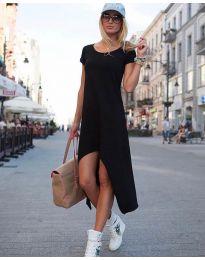Свободна рокля в черно - код 336