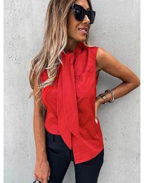 Елегантна дамска риза в червено - код 5531