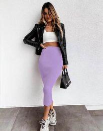 Дамска пола в лилаво - код 2260