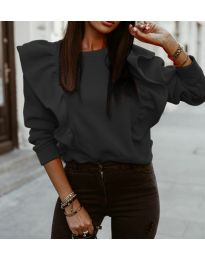 Дамска блуза в черно - код 3890