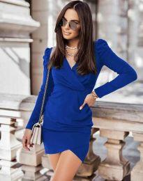 Дамска рокля в синьо - код 0951