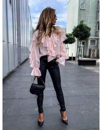 Елегантна блуза в розово - код 9051