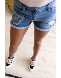 Къси дънкови панталонки - код 654