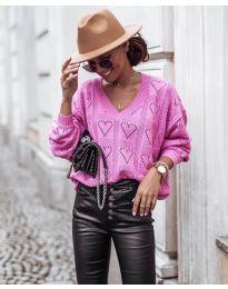 Дамска блуза в розово - код 137