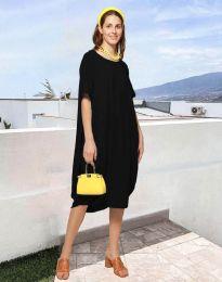 Дамска рокля в черно - код 5554