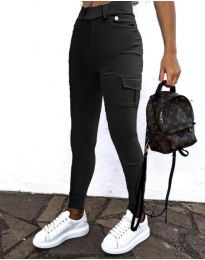 Панталон в черно - код 2528