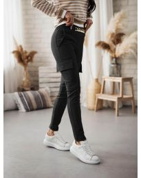 Дамски панталон в черно - код 5130