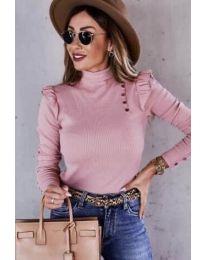 Дамска блуза в розово - код 6566