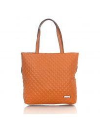 Дамска чанта в кафяво - код 5505