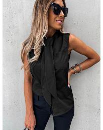 Елегантна дамска риза в черно - код 5531