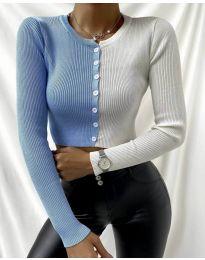 Екстравагантна дамска блуза - код 6366 - 3