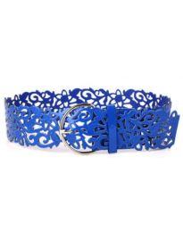 Дамски колан в синьо - код P95